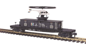 "MTH 70-79013 - Operating Helicopter Car ""Channel 4 News"""