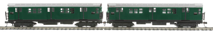 "MTH 80-2372-3 - R-21 Subway Add-On Non Powered Set ""Metropolitan Transportation Authority"" (2-Car)"