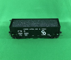"MTH 80-97086 - USRA 55-Ton Steel Twin ""Chesapeake & Ohio"" Hopper Car"