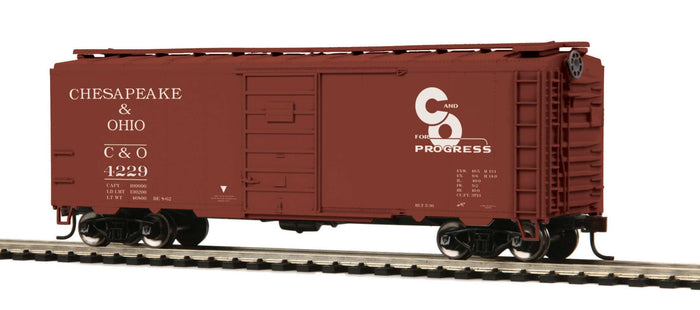 "MTH 85-74147 - 40' PS-1 Box Car ""Chesapeake & Ohio"""