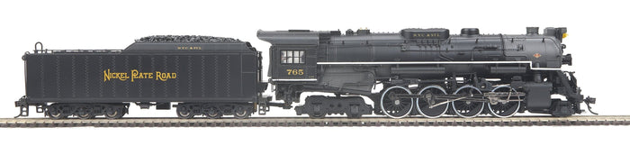 "MTH HO 80-3295-1 - 2-8-4 S-2 Berkshire Steam Engine ""Nickel Plate Road"" w/ PS3"