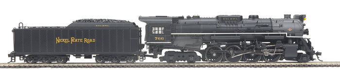 "MTH HO 80-3296-1 - 2-8-4 S-2 Berkshire Steam Engine ""Nickel Plate Road"" w/ PS3"