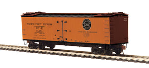 MTH HO 80-94059 Pacific Fruit Express R40-2 Woodside Reefer Car