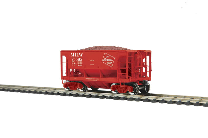 MTH HO 80-97039 Milwaukee Road 70-Ton Center Discharge Ore Car