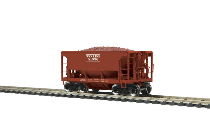 MTH HO 80-97041 SOO Line 70-Ton Center Discharge Ore Car