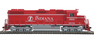 "MTH HO 85-2022-1 - GP38-2 Diesel Locomotive ""Indiana Railroad"" w/ PS3 #3806"