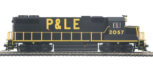 "MTH HO 85-2035-1 - GP38-2 Diesel Locomotive ""Pittsburgh & Lake Erie"" w/ PS3 #2060"