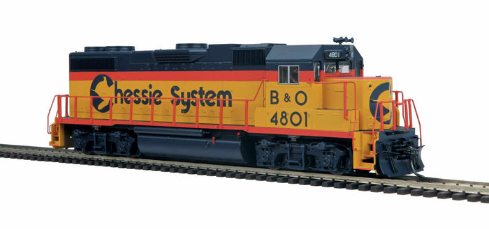 "MTH HO 85-2044-0 - GP38-2 Diesel Locomotive ""Chessie"" (DCC Ready) #4817"