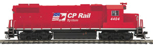 "MTH HO 85-2060-1 - GP38-2 Diesel Locomotive ""CP Rail"" w/ PS3 #4437"