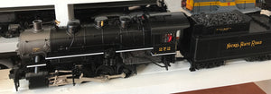 "MTH 20-3704-1 - 0-8-0 USRA Steam Engine ""Nickel Plate Road"" #272 w/ PS3 (Hi-Rail Wheels)"