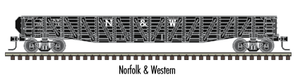 "Atlas O 2002803 - Trainman - 52'6"" 70-Ton War Emergency Gondola ""Norfolk & Western"""