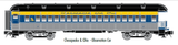 "Atlas O 2002706 - Trainman - 60' Observation Car ""Chesapeake & Ohio"""