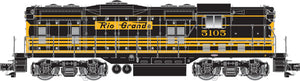 "Atlas O 30150019 - Master -  GP-7 Phase 2 Locomotive ""Rio Grande"" Powered - 2 Rail"