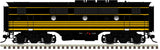 "Atlas O 1616-3 - California Zephyr - EMD F3B Phase 1 ""Rio Grande"" (Powered)"