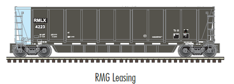 "Atlas O 3006613 - MASTER - Coalveyor Bathtub Gondola ""RMG Leasing"" - 2 Rail"