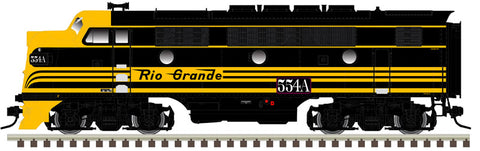 "Atlas O 1615-3 - California Zephyr - EMD F3A Phase 1 ""Rio Grande"" (Powered)"