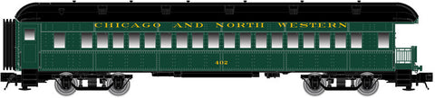 "Atlas O 2002701 - Trainman - 60' Observation Car ""Chicago & North Western"""