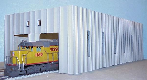 Korber Models #TT2124 - O Scale - Locomotive Maintenance Facility Kit