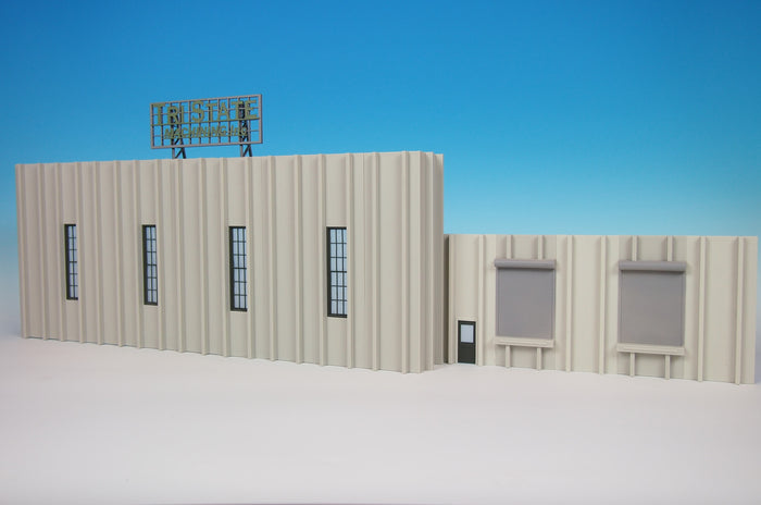 Korber Models #TT2301 - O Scale - Tri State Machining Background Building Kit