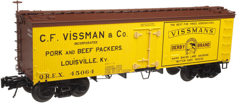 "Atlas O 3001415 - 36' Wood Refrigerator Cars""Vissman"""