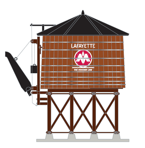 "MTH 30-11CIL - Operating Water Tower ""Monon"" - Custom Run for MrMuffin'sTrains"