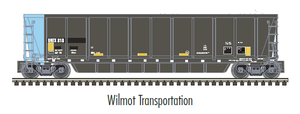"Atlas O 3005614 - MASTER - Coalveyor Bathtub Gondola ""Wilmot Transportation"""