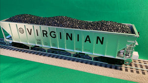 "MTH 20-92207 - 4-Bay Hopper Set ""Virginian"" (6-Car) - Set #1"