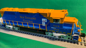 "MTH 20-21206-1 - GP-40 Diesel Engine ""New England Central"" #4049 w/ PS3 (Hi-Rail Wheels)"