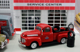 "1948 Ford F1 Pickup ""Standard Oil"" w/Tire Load (Red) 1/43 Diecast Car by Americana Truck Series"