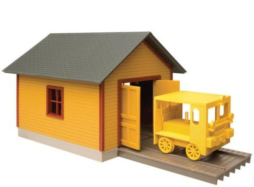 Walthers 933-2701 - Speed Shed w/ Speeder
