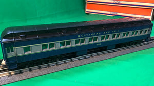 "Lionel 6-84190 - 18"" Heavyweight Passenger Coach Car ""Baltimore & Ohio"" (2-Car) Set #2"