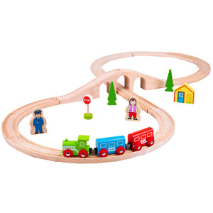 BigJigs BJT012 - Figure of Eight Train Set