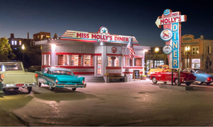 Woodland Scenics BR5870 - Miss Molly's Diner