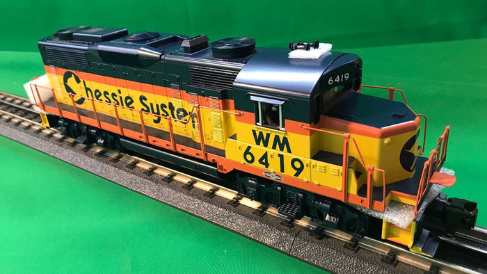 "MTH 30-20608-1 - GP-20 Diesel Engine ""Chessie"" WM #6419 w/ PS3"