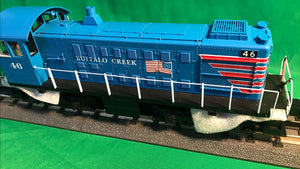 "MTH 20-21185-1 - Alco S-2 Switcher Diesel Engine ""Buffalo Creek"" #47 w/ PS3"