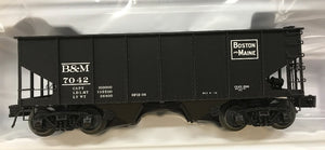 "Atlas O 3005811 - 55-Ton Coal Hopper ""Boston & Maine"""