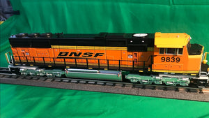 "MTH 20-21197-1 - SD70Mac Diesel Engine ""BNSF"" #9839 w/ PS3 (Hi-Rail Wheels)"