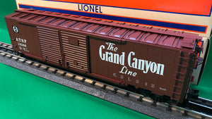 "Lionel 1926441 - 50' Double Door Boxcars ""Santa Fe"" #10206 (Grand Canyon)"