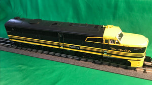 "MTH 20-21245-4 - Alco PA A Unit Non-Powered Diesel Engine ""Denver & Rio Grande"" #602A (Hi-Rail Wheels)"