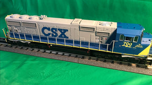 "MTH 20-21200-1 - SD70Mac Diesel Engine ""CSX"" #789 - Spirit of Nashville w/ PS3 (Hi-Rail Wheels)"