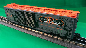 "Lionel 1926480 - 50' Double Door Boxcars ""ELX Halloween"" #103119"