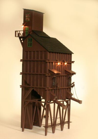 GGD SB101-BRN - 100 Ton Coaling Tower (Brown)