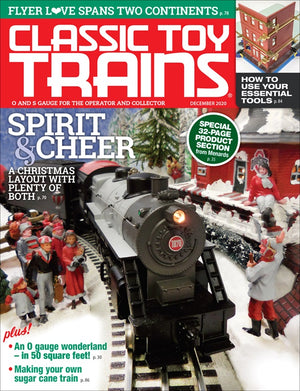 Classic Toy Trains - Magazine - Vol.33 - Issue 08 - Dec. 2020