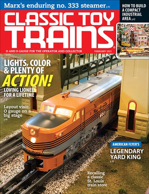 Classic Toy Trains - Magazine - Vol.34 - Issue 02 - Feb. 2021