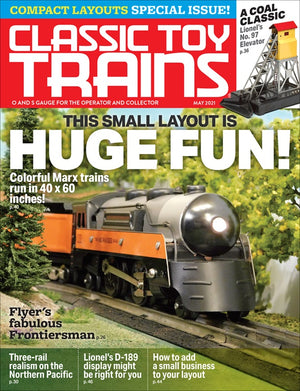 Classic Toy Trains - Magazine - Vol.34 - Issue 04 - May 2021