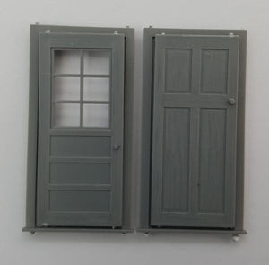 Korber Models #D0020 - O Scale - Entry Door (4-Pack)