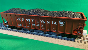 "MTH 20-92210 - 4-Bay Hopper Set ""Pennsylvania"" (6-Car) - Set #2"