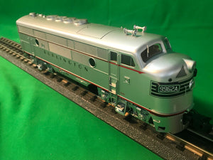 "Atlas O 1640-3 - California Zephyr - EMD F3A Phase 2 Early ""Burlington"" #9962A (Powered)"