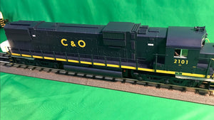 "MTH 30-20662-1 - C630 Diesel Engine ""Chesapeake & Ohio"" #2101 w/ PS3"