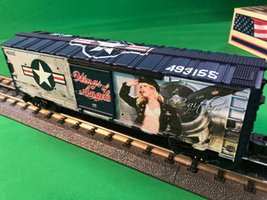 "Lionel 1938260 - U.S. Army Boxcar ""Wings of Angels - Caitlin"""